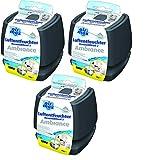 UHU Luftentfeuchter Airmax, Verhindert Feuchtigkeit und muffige Gerüche in Räumen bis zu 35 m³, 450 g